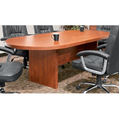 "Regency 120"" x 47""  Racetrack Conference Table Office  Set"