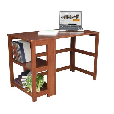 Regency Flip-Flop Writing Desk and Bookcase