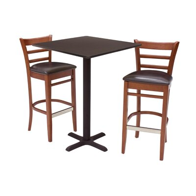 Regency Zoe Stools and Square Café Table