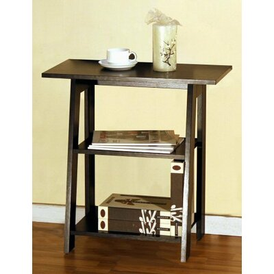 Ladder Chairside End Table
