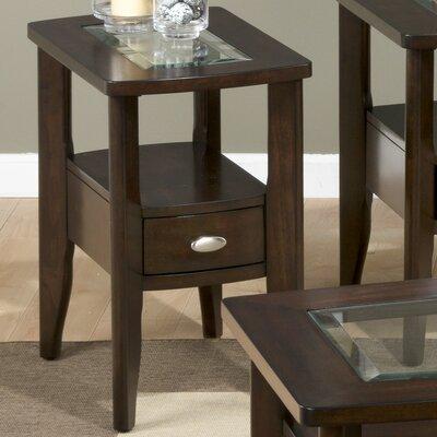 Montego Merlot Chairside Table