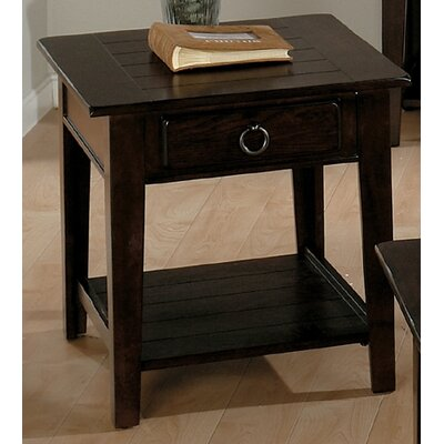 Jofran Heirloom End Table in Oak