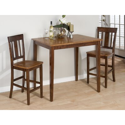 3 Piece Counter Height Dining Set Wayfair