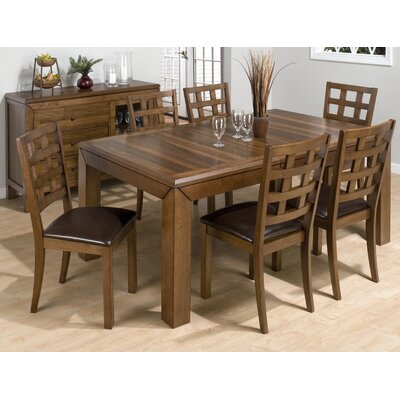 Jofran Wenatchee Falls 7 Piece Dining Set