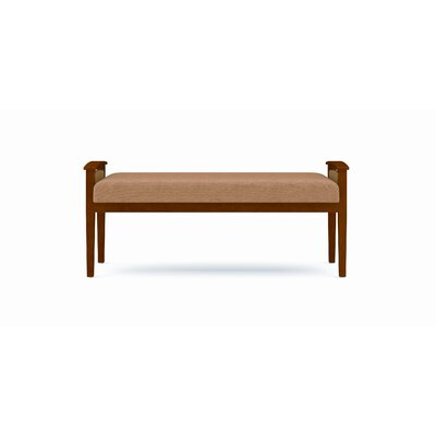 Lesro Amherst Two Seat Bench with Open Arm