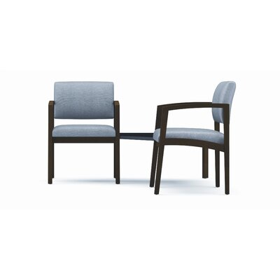 Lesro Lenox Two Chairs with Connecting Corner Table