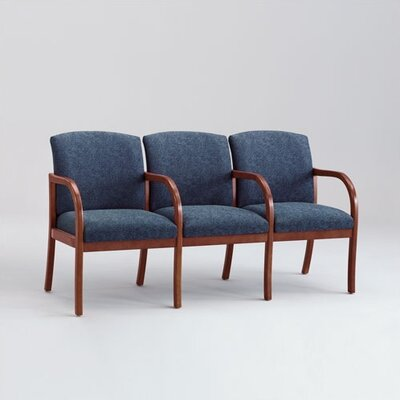 Lesro Weston Three Seats with Wood Leg