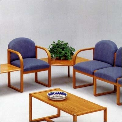 Lesro Contour Two Chairs with Round Back