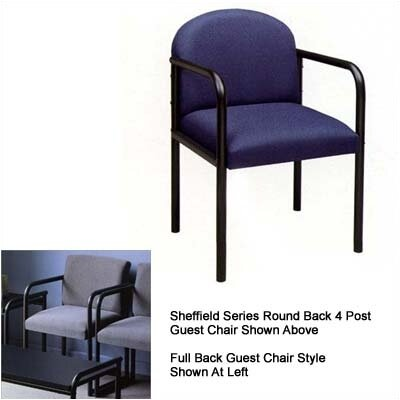 Lesro Sheffield Guest Chair with Full Back