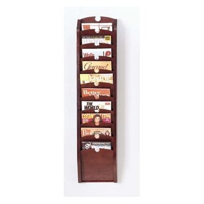 Lesro Traditional Series Pocket Magazine Rack