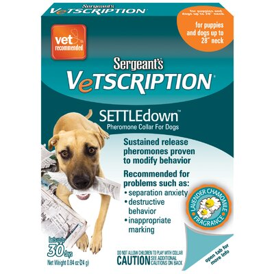 Sergeants Pet Care Pheromone Dog Collar