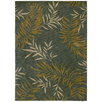 Tommy Bahama Rugs Home Nylon Florist Greens Rug