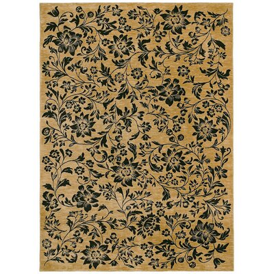 Tommy Bahama Rugs Home Nylon Black Island Flower Rug