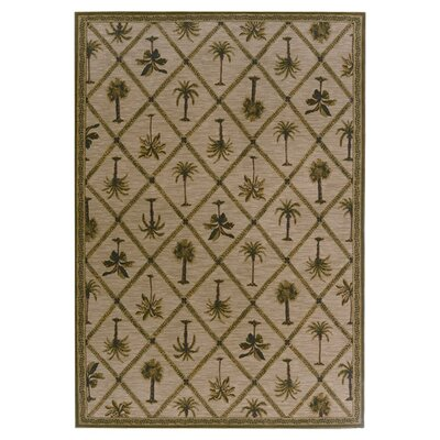 Tommy Bahama Rugs Tommy Bahama Nylon Palms Away Novelty Rug