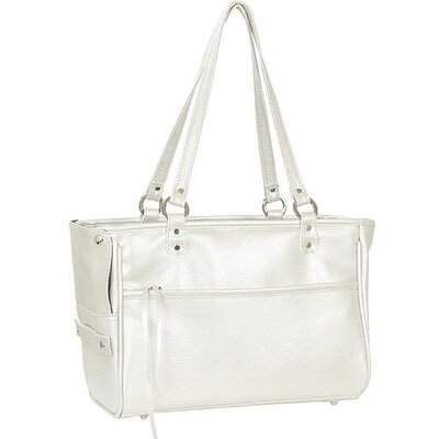 Petote Classic Lucky Pet Carrier in Platinum