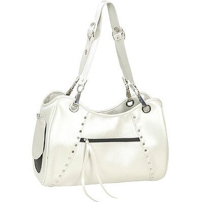 Classic Genevieve Pet Carrier in Platinum