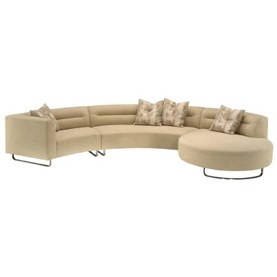 Calcutta Circle Bumper End Left Sectional