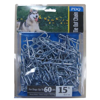 Boss Pet Products Large PDQ Twisted Dog Chain
