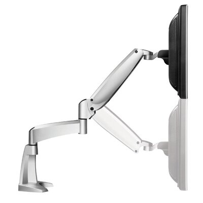Workrite Ergonomics Ergonomics Poise Single Monitor Arm with C-Clamp and Grommet Mount