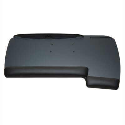 Workrite Ergonomics Reversible Keyboard Tray with Fixed Arm Mount
