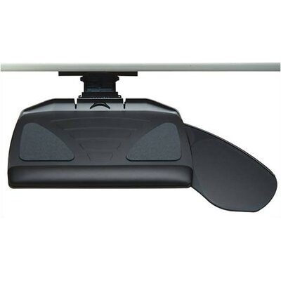 Workrite Ergonomics Banana-Board Keyboard Tray and Mouse Platform with Single Adjustable Arm