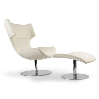 Boson Chair and Ottoman by Patrick Norguet