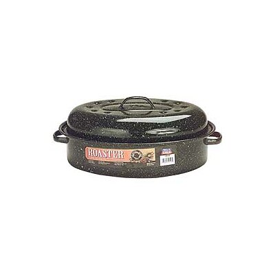 "Columbian Home Products 15"" Covered Oval Roaster"