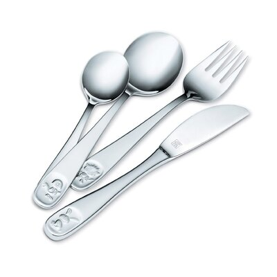 Zwilling JA Henckels Children's 4 Piece Flatware Set