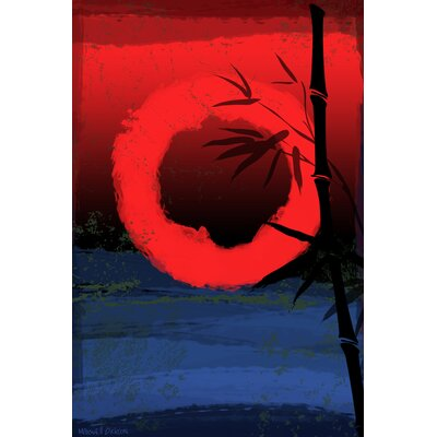 "Maxwell Dickson ""Osaka"" Graphic Art on Canvas"