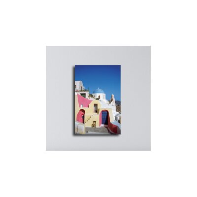 Maxwell Dickson Santorini Greece Photographic Print on Canvas
