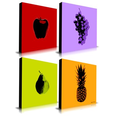 Maxwell Dickson Fruits Graphic Art on Canvas