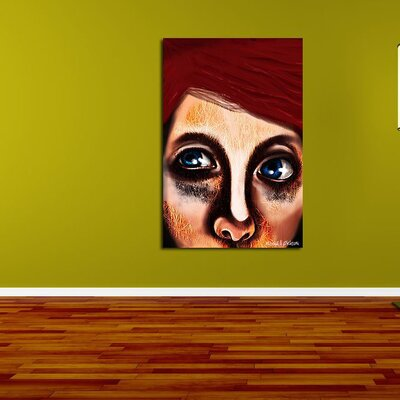 Maxwell Dickson Eye Girl Canvas Print