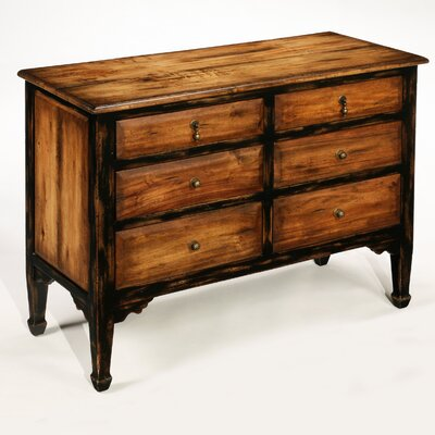 Inspirations 6 Drawer Hall Chest