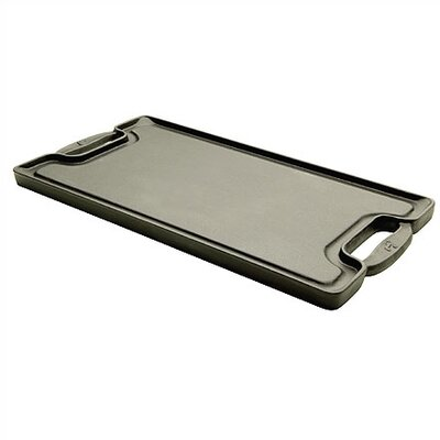 "Emerilware by All Clad Cast Iron 20"" x 10"" Reversible Grill Pan and Griddle"