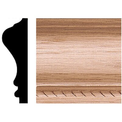 Manor House 3/4 in. x 2-3/4 in. x 8 ft. Oak Chair Rail Moulding