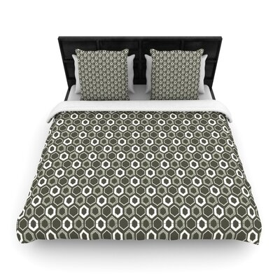 KESS InHouse Hexy Duvet Cover Collection