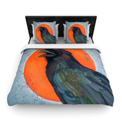 KESS InHouse Raven Sun Duvet Cover Collection