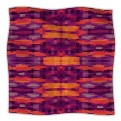 KESS InHouse Medeaquilt Microfiber Fleece Throw Blanket