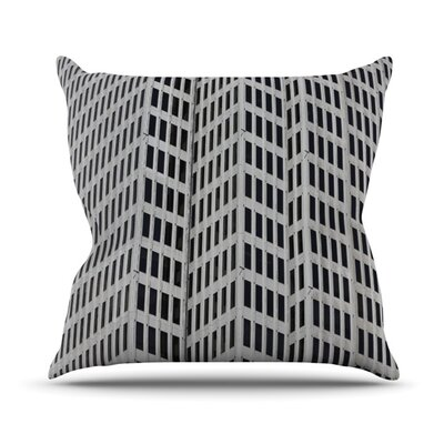 KESS InHouse The Grid Throw Pillow