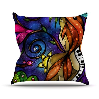 KESS InHouse Tell Me Stories Throw Pillow