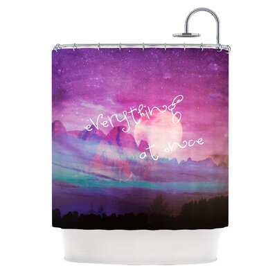KESS InHouse Everything At Once Polyester Shower Curtain