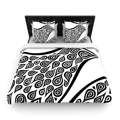 Bird In Disguise White Pattern Duvet Cover Collection