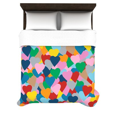 KESS InHouse More Hearts Duvet Cover Collection