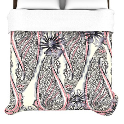 KESS InHouse Inky Paisley Bloom Bedding Collection