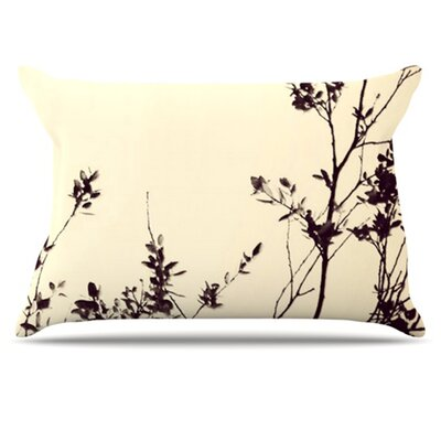KESS InHouse Silhouette Pillowcase