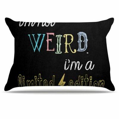 KESS InHouse Weird Pillowcase