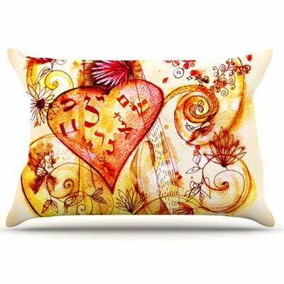 KESS InHouse Tree of Love Pillowcase