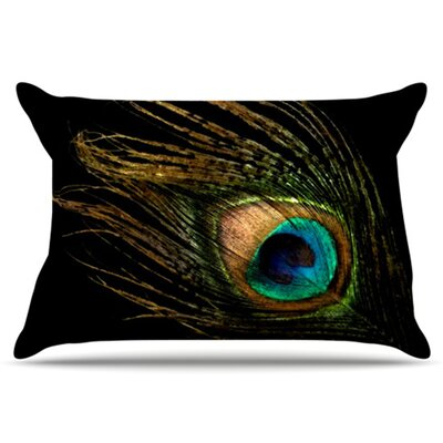 KESS InHouse Peacock Pillowcase