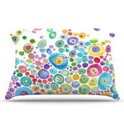 KESS InHouse Inner Circle Pillowcase