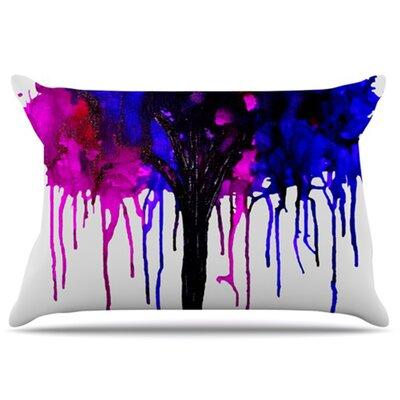 KESS InHouse Weeping Willow Pillowcase